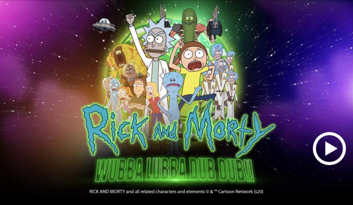 Rick and Morty Wubba Lubba Dub Dub-คาสิโน